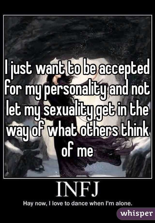 Infj and sexuality