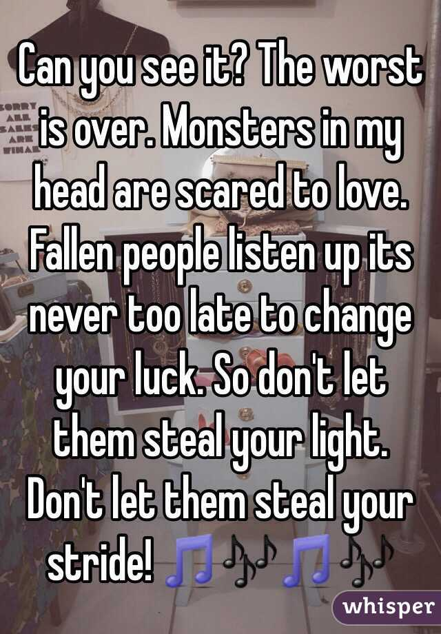 League Love Of Scared Are Why People are given out