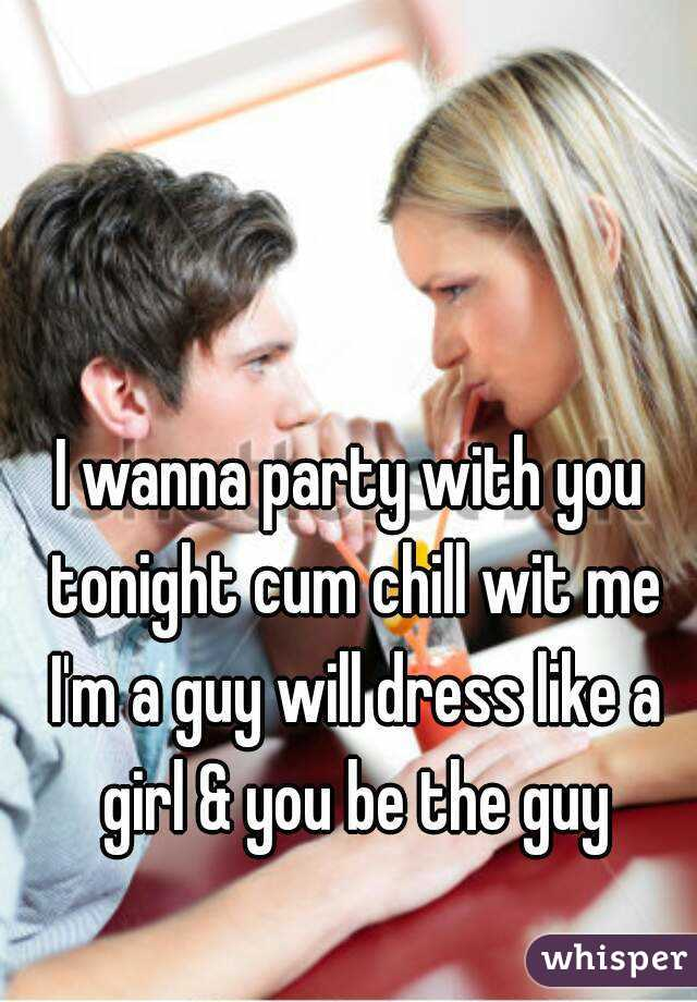 girl i wanna party with you