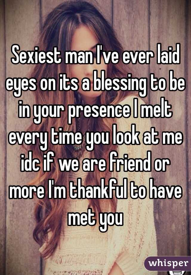 you are the sexiest