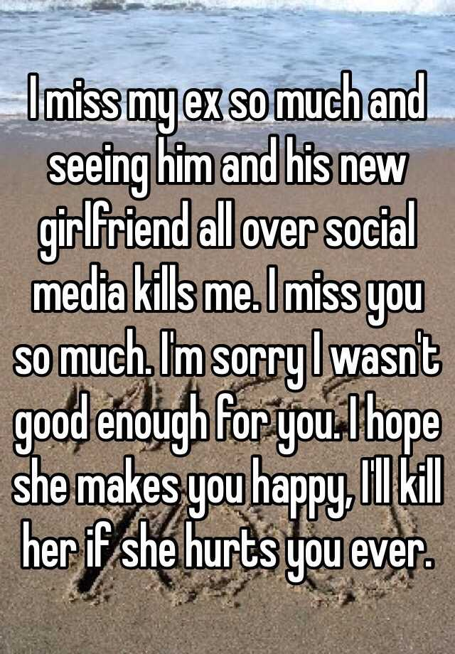 Do Guys Ever Miss Their Ex Girlfriend