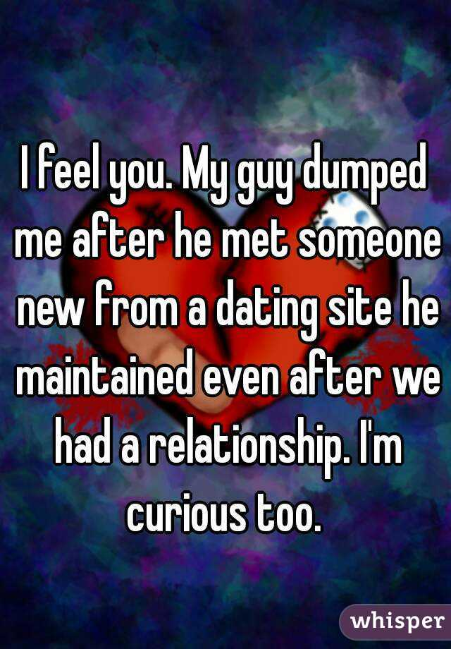 Truth about how guys feel after dumping you