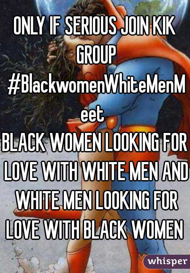 Black women on kik