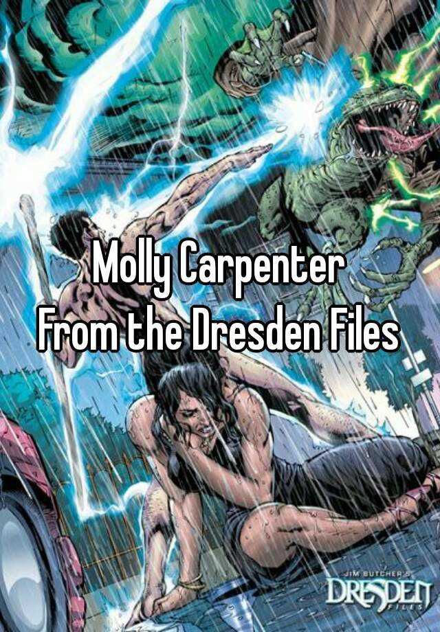 Molly Carpenter From The Dresden Files