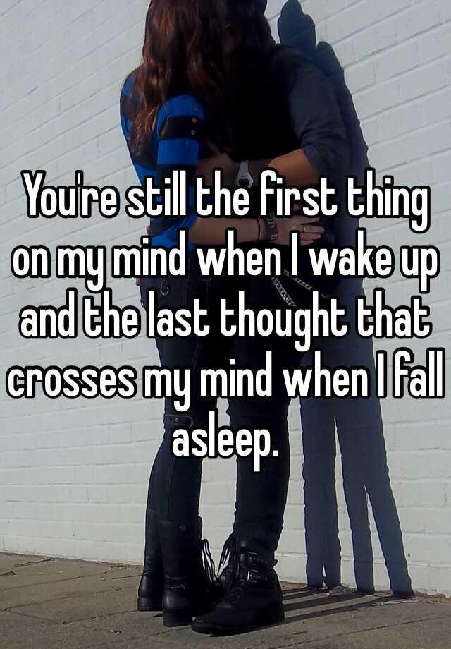 youre still on my mind
