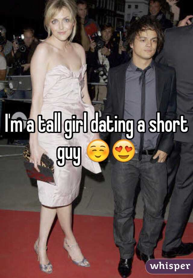 dating a tall guy