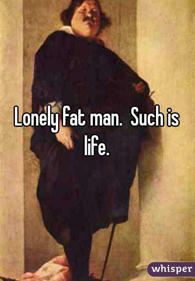 孤独で脂肪