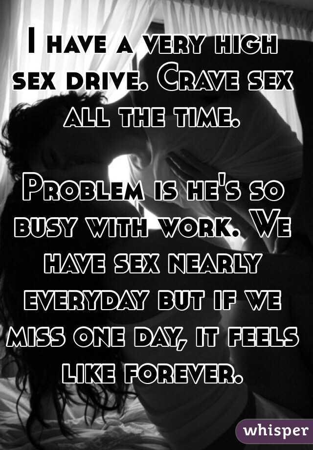 Sex crave