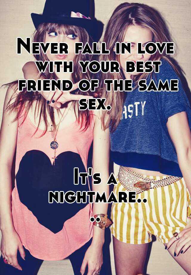 Love in same sex friendship