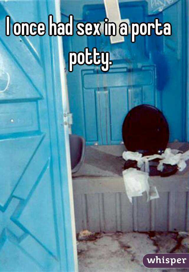 Portapotty sex