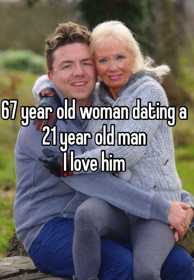 21 year old dating 50 year woman