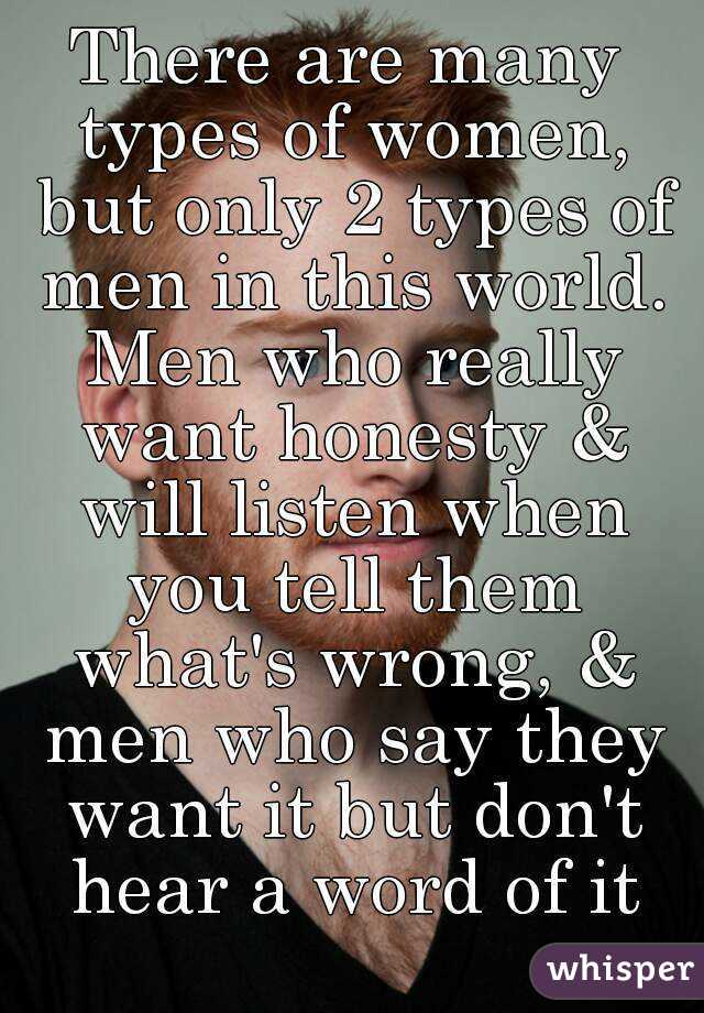 What Do Men Really Want To Hear