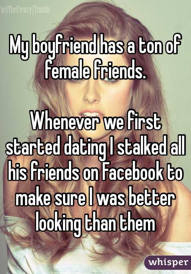 should my boyfriend have female friends