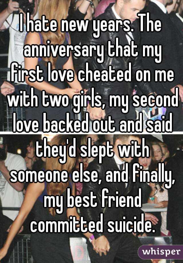Girl im hookup slept with someone else