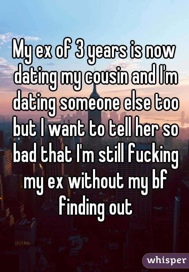My ex is now dating someone else