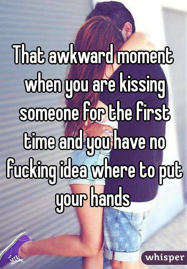 Where Do You Put Your Hands When Kissing A Guy