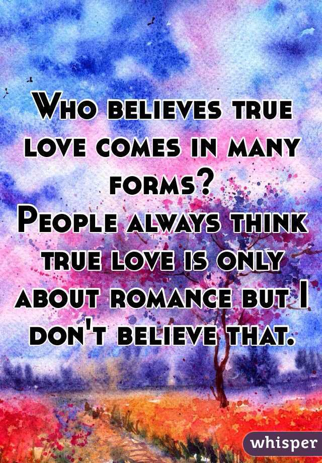 what do you think true love is