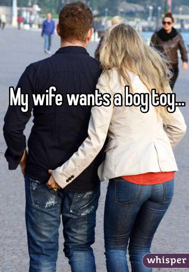 Wife With Boy Toy