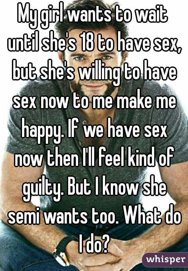 Pity, Signs that a girl wants to have sex suggest you