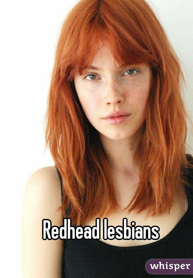 Lesbian redhead redhead