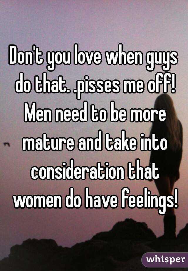 When do men mature