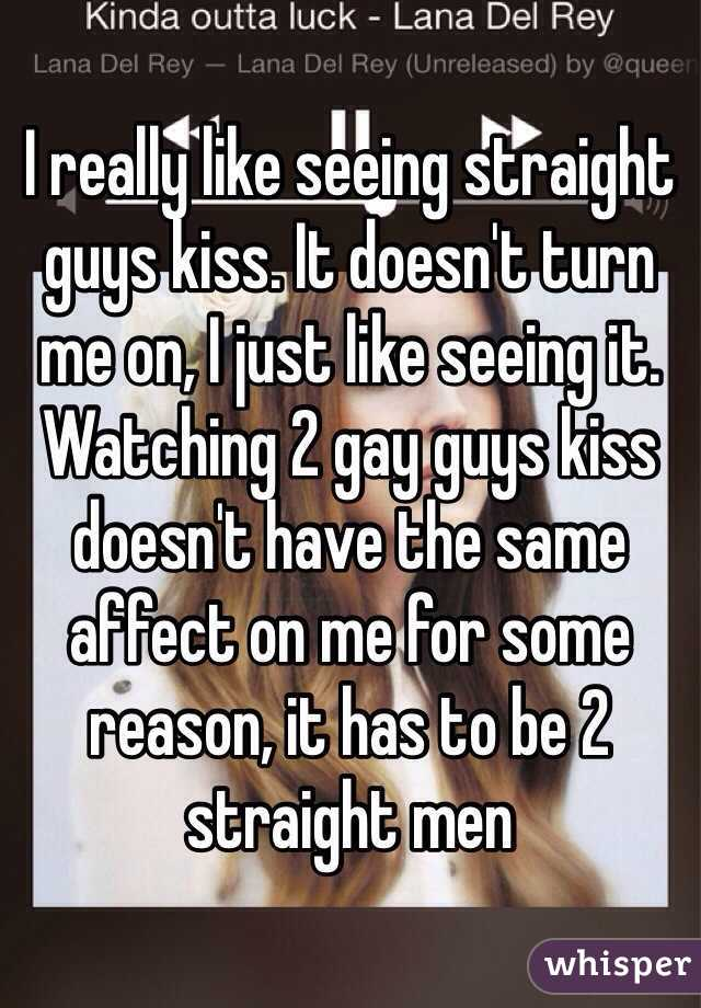 Straight men turn 2