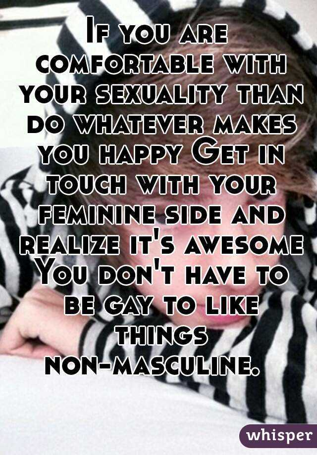 In touch with your sexuality