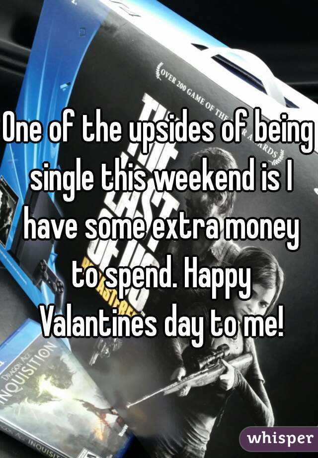 One of the upsides of being single this weekend is I have some extra money to spend. Happy Valantines day to me!
