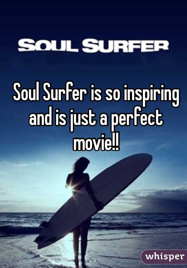 Soul Surfer is so inspiring and is just a perfect movie!!
