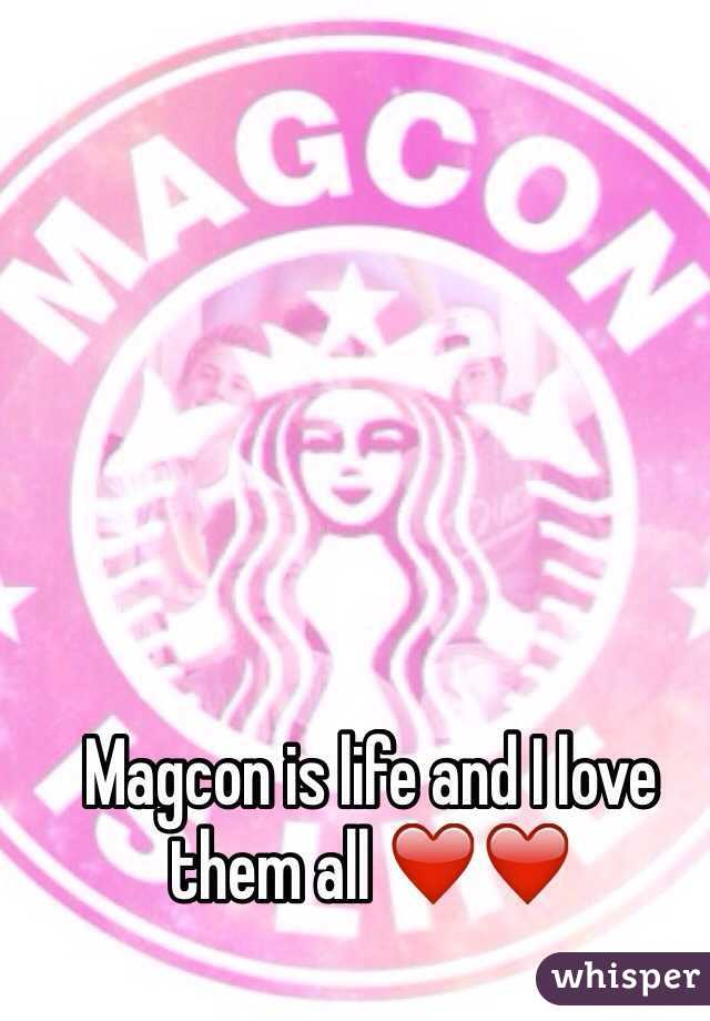 Magcon is life and I love them all ❤️❤️