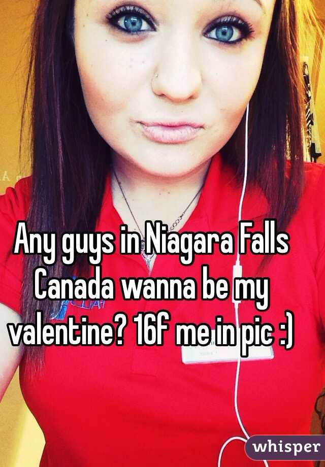 Any guys in Niagara Falls Canada wanna be my valentine? 16f me in pic :)