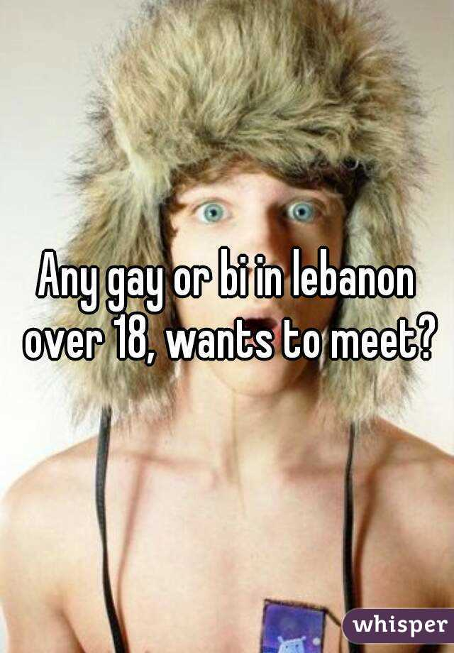 Any gay or bi in lebanon over 18, wants to meet?