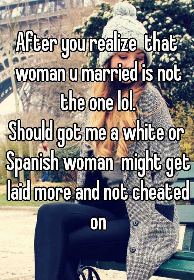 married spanish woman