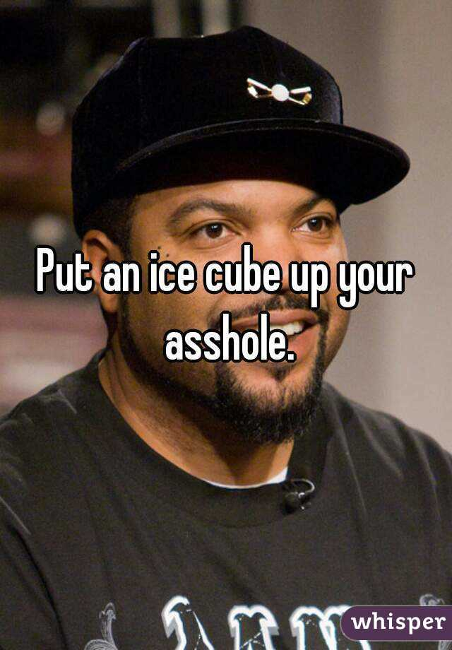 Putting Ice Cubes In The Asshole