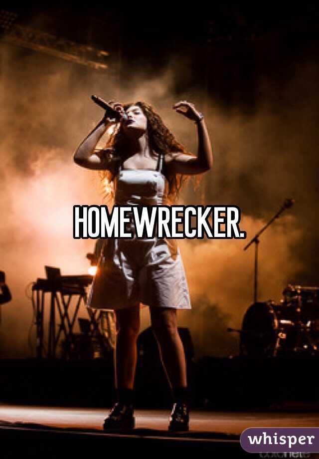 HOMEWRECKER.