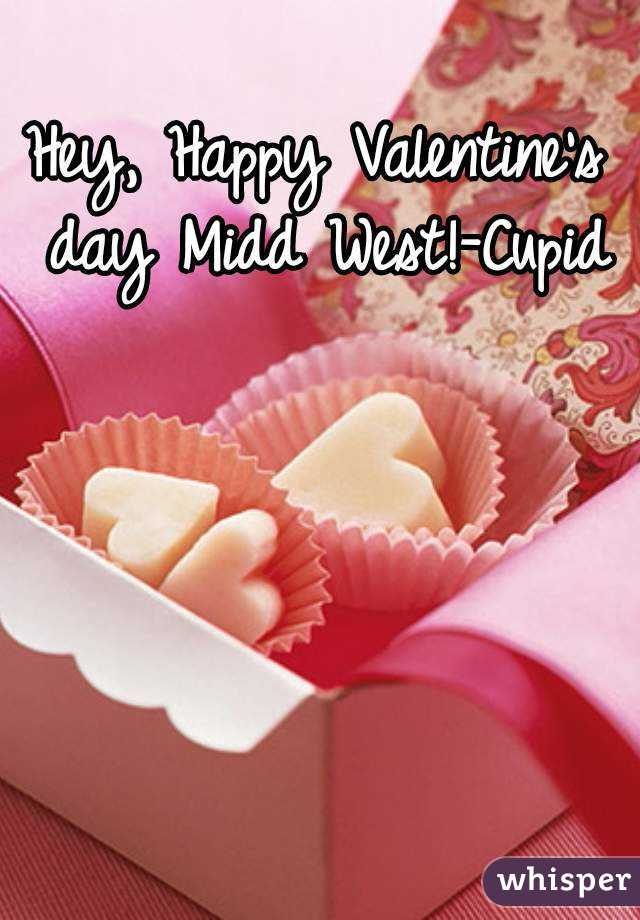Hey, Happy Valentine's day Midd West!-Cupid
