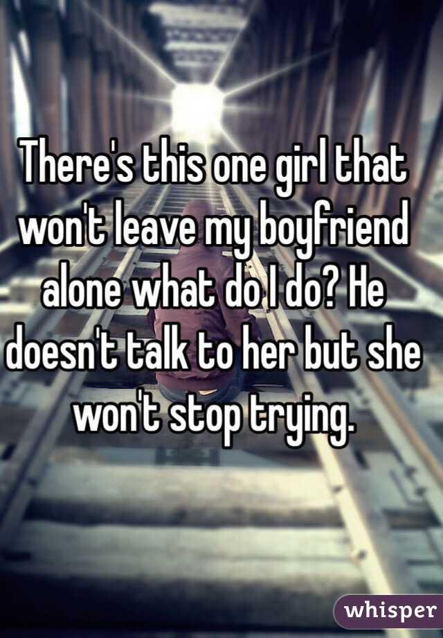 My Boyfriend Girl
