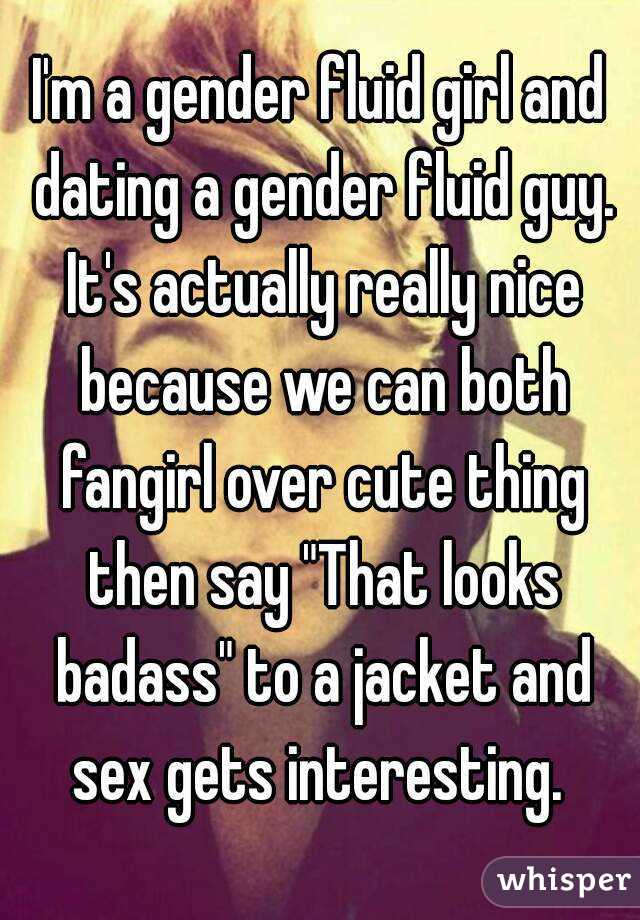 Genderfluid dating