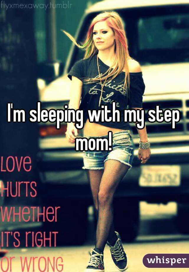 Sleeping With Step Mom