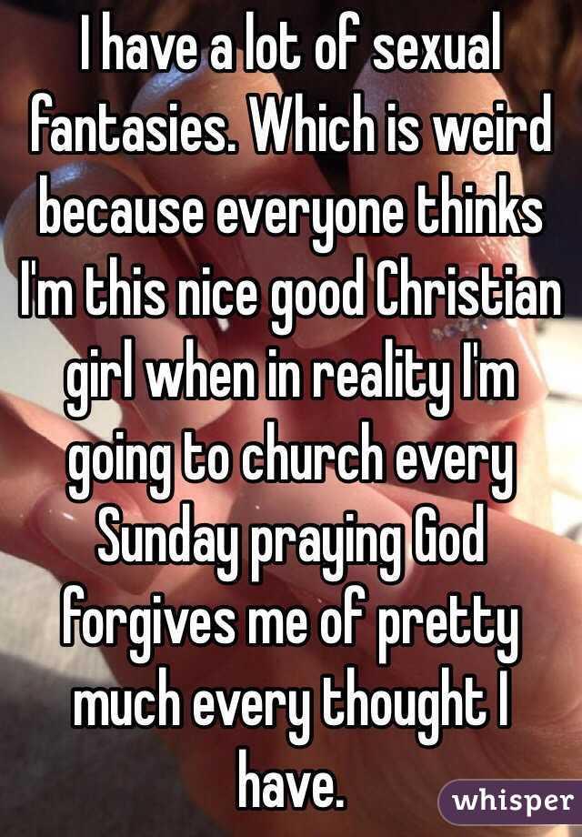 Christian sexual fantasies