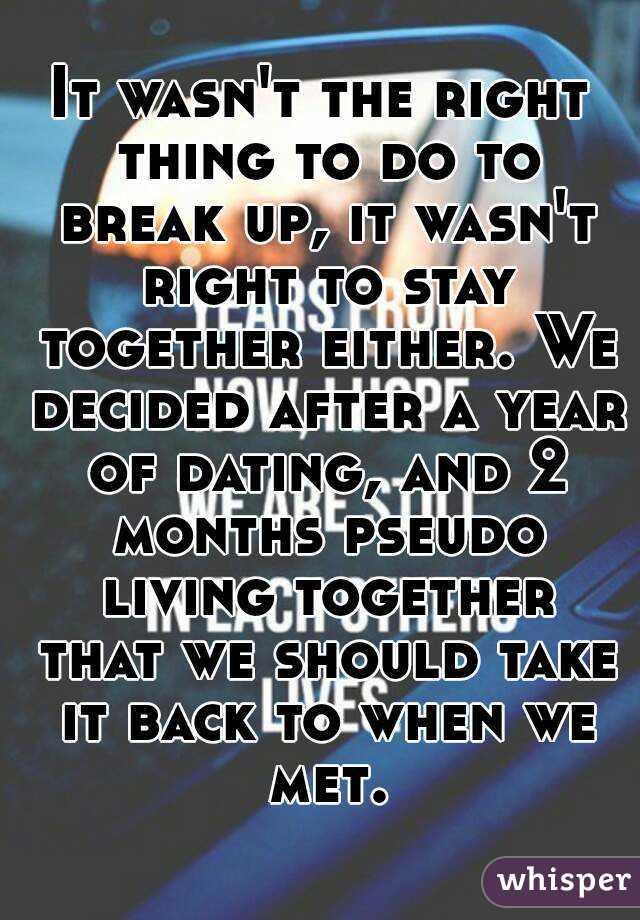 Living Together After Dating 3 Months