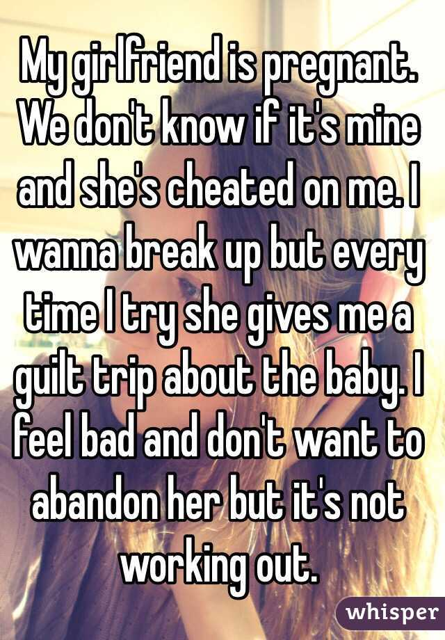 I Wanna Cheat On My Girlfriend