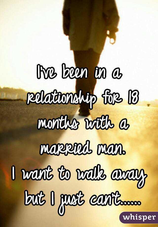 When a man walks away from a relationship