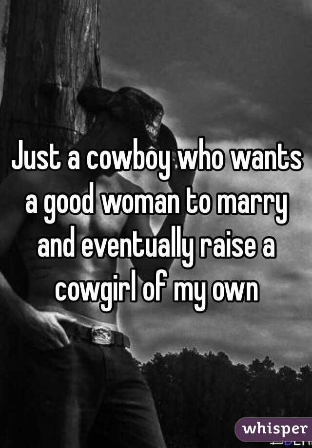 Eventually cowgirl