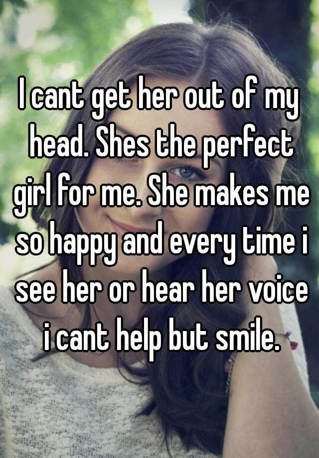 perfect girl for me