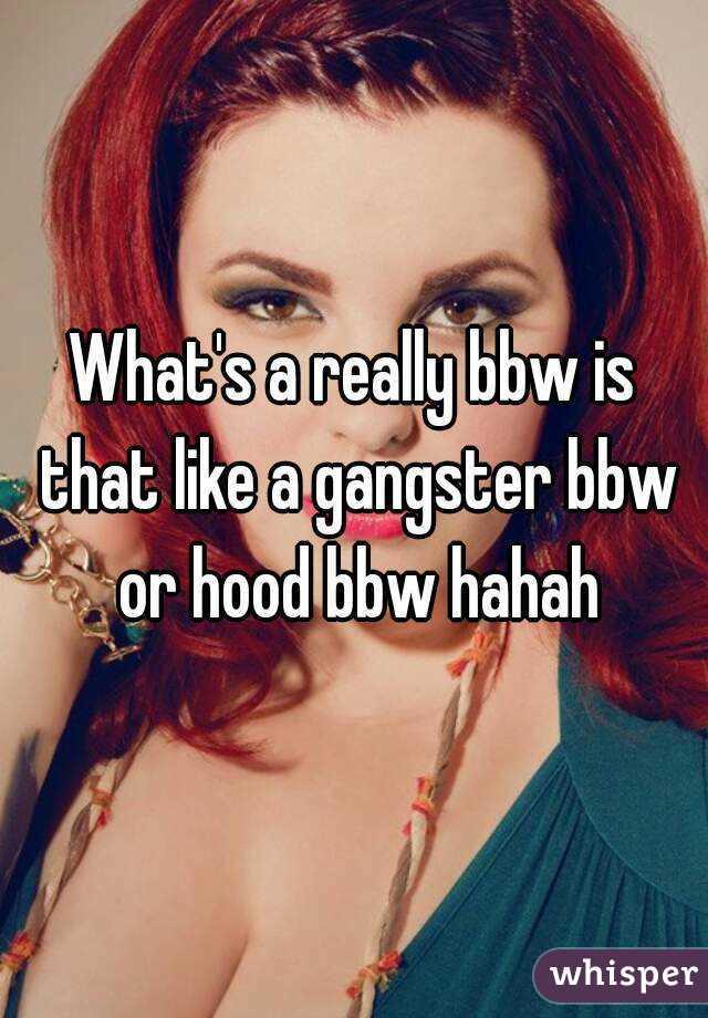 Hood bbw
