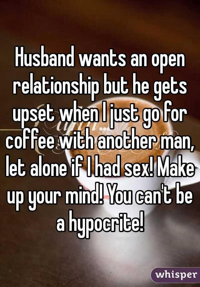 partner wants open relationship