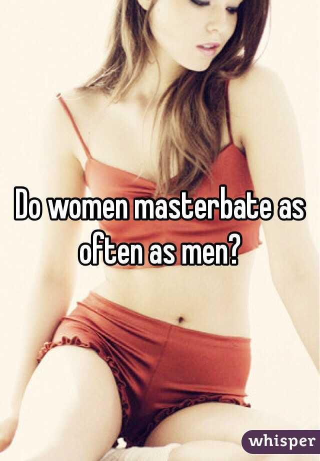 how often should a man mastrubate