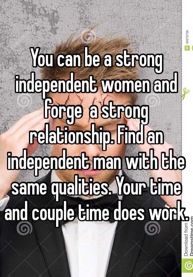 How to become an independent woman in a relationship