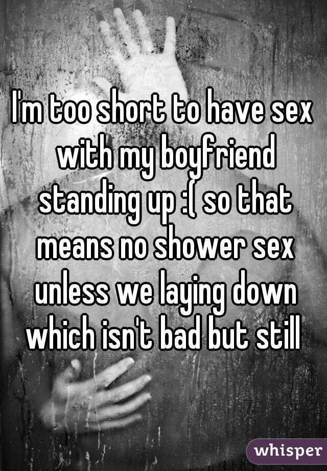 Is it ok to have sex in the shower